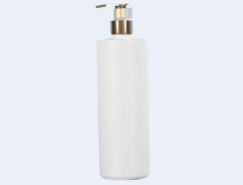White PET Shampoo Bottle