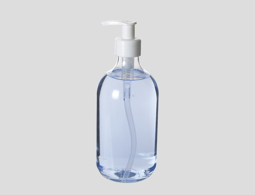 Clear Lotion Pump Bottle