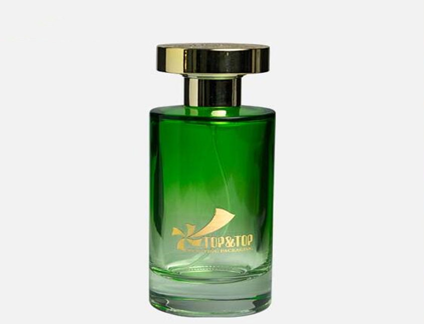 Green Glass Perfume Bottes Wholesale