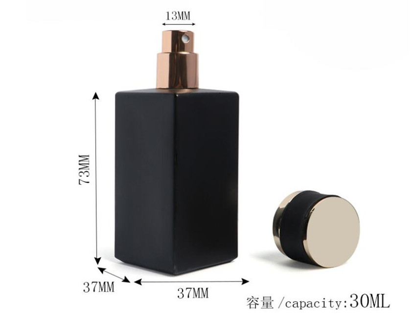 30ml Black Spray Perfume Bottle