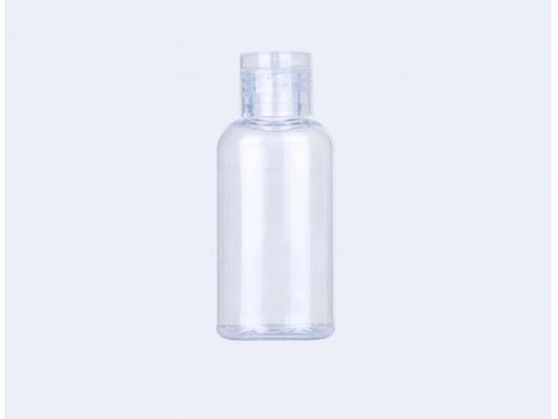 Clear Round PET Bottles